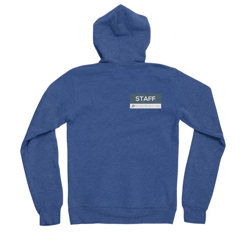 Staff 2 - Clothing Women's Zip-Up Hoody by #MaybeYouMatter