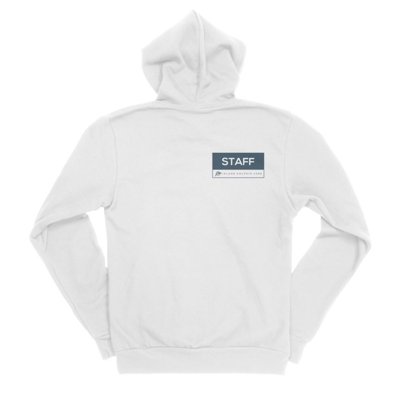 Staff 2 - Clothing Women's Zip-Up Hoody by #MaybeYouMatter