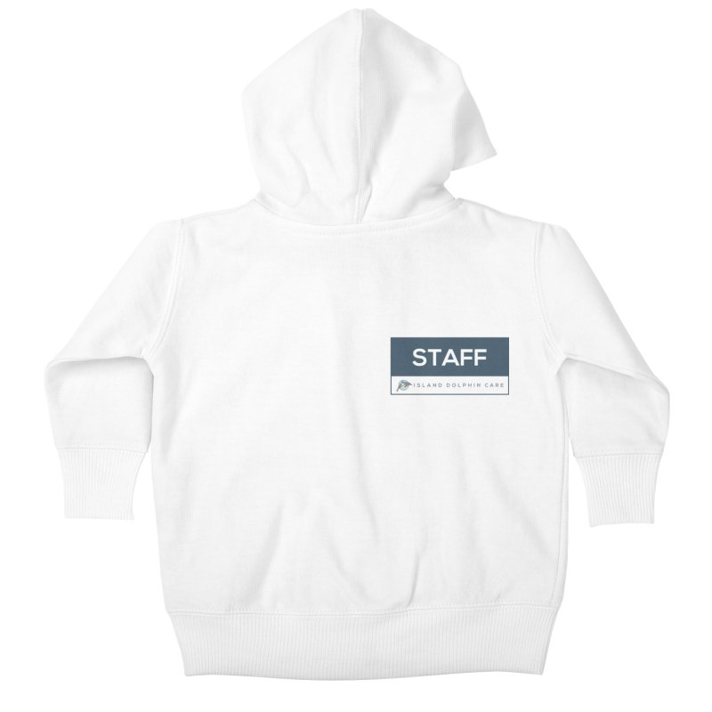 Staff 2 - Clothing Kids Baby Zip-Up Hoody by #MaybeYouMatter