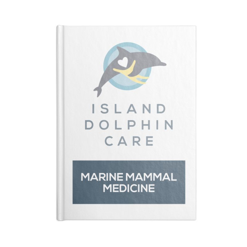 Marine Mammal Medicine Gear Accessories Notebook by #MaybeYouMatter