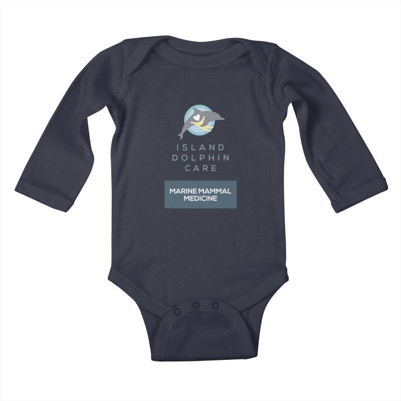 Marine Mammal Medicine Gear Kids Baby Longsleeve Bodysuit by #MaybeYouMatter