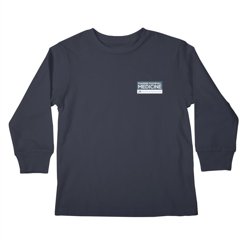 Marine Mammal Medicine Version 2 Kids Longsleeve T-Shirt by #MaybeYouMatter