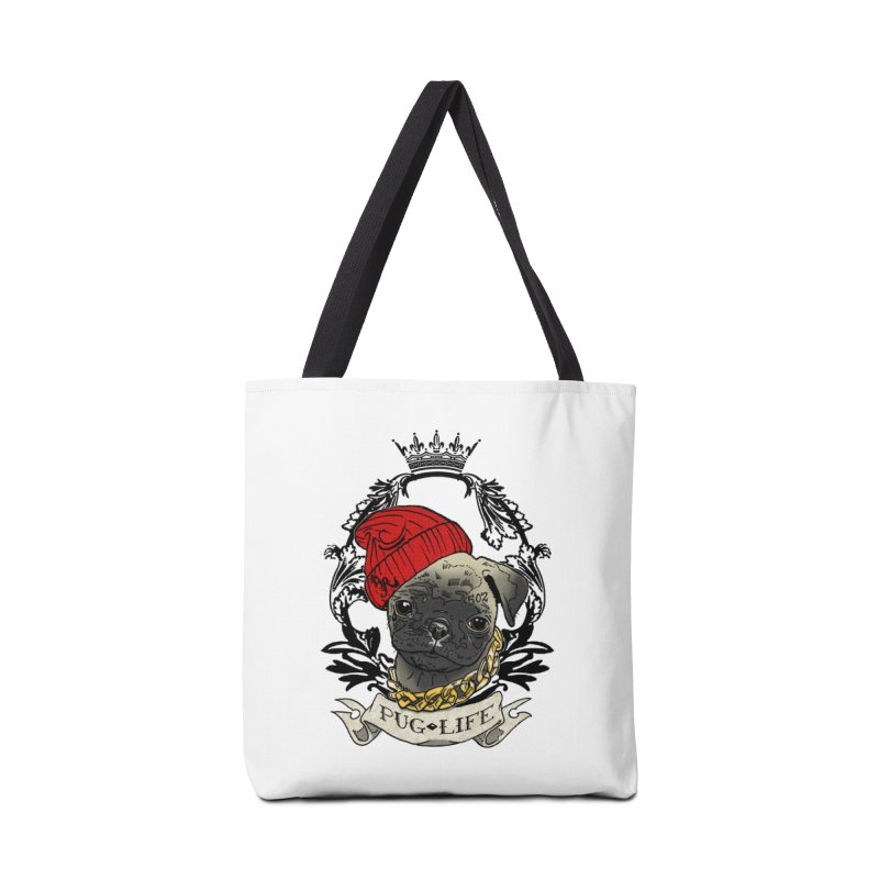 Pug Life Accessories Bag by Inkslinger Erick Designs