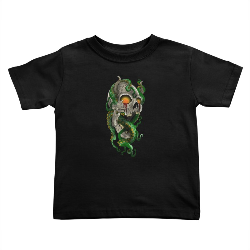 From the Inky Depths Kids Toddler T-Shirt by Inkslinger Erick Designs
