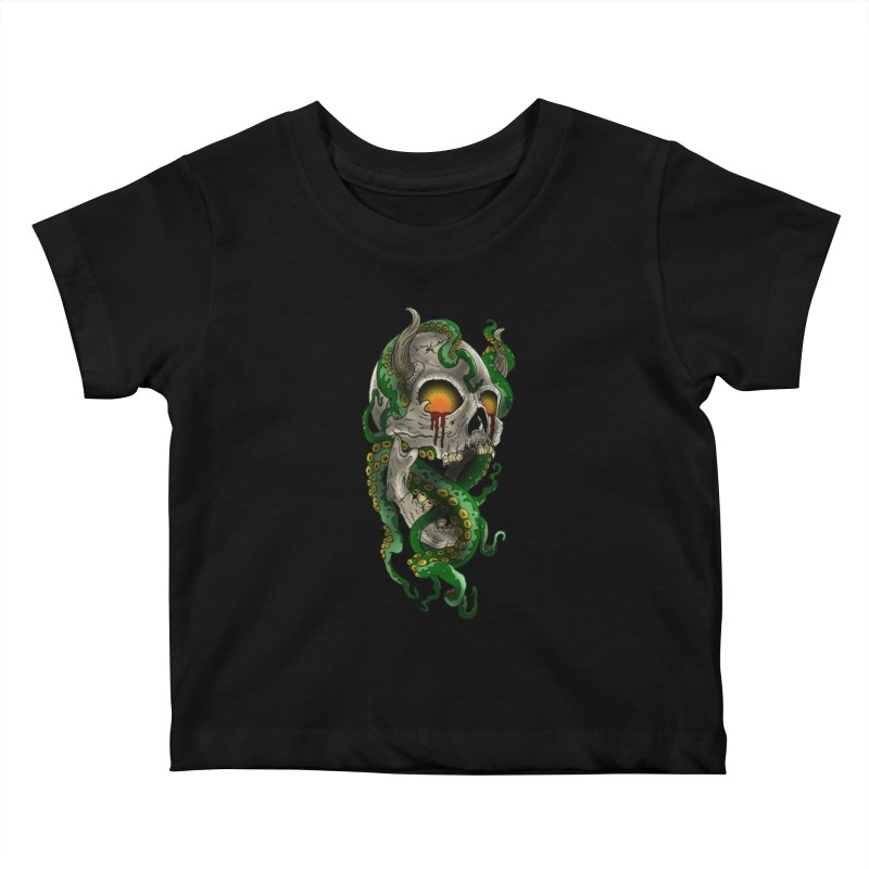 From the Inky Depths Kids Baby T-Shirt by Inkslinger Erick Designs