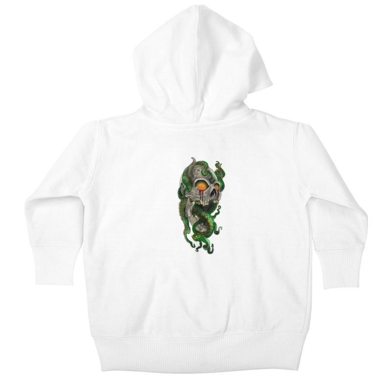 From the Inky Depths Kids Baby Zip-Up Hoody by Inkslinger Erick Designs
