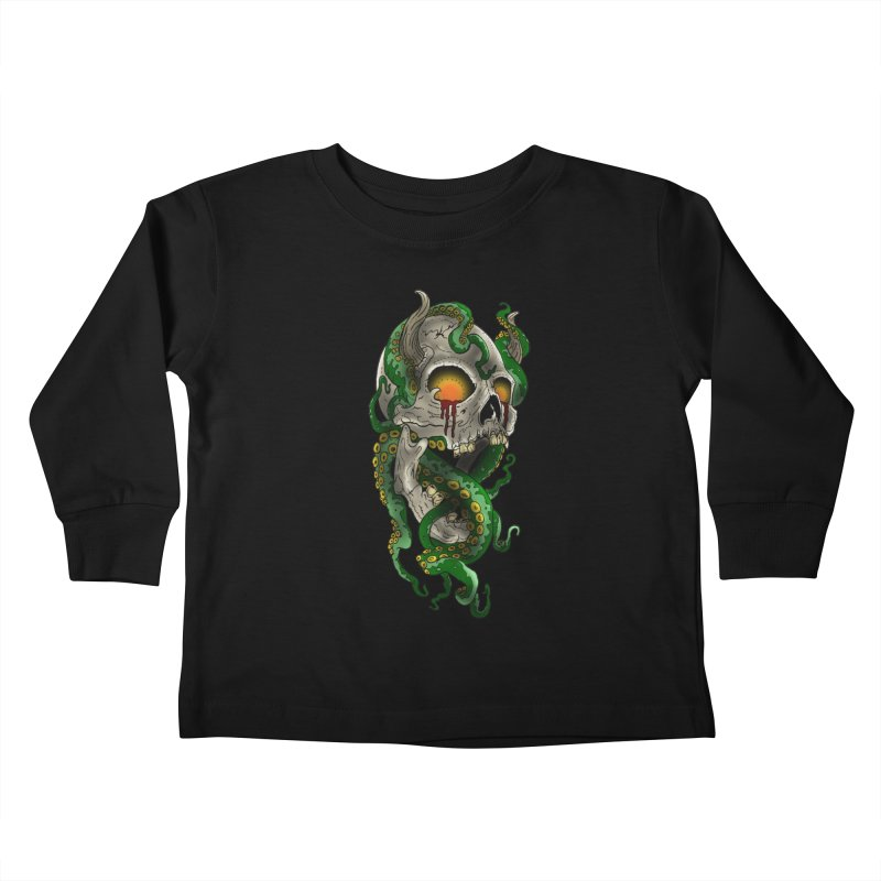 From the Inky Depths Kids Toddler Longsleeve T-Shirt by Inkslinger Erick Designs