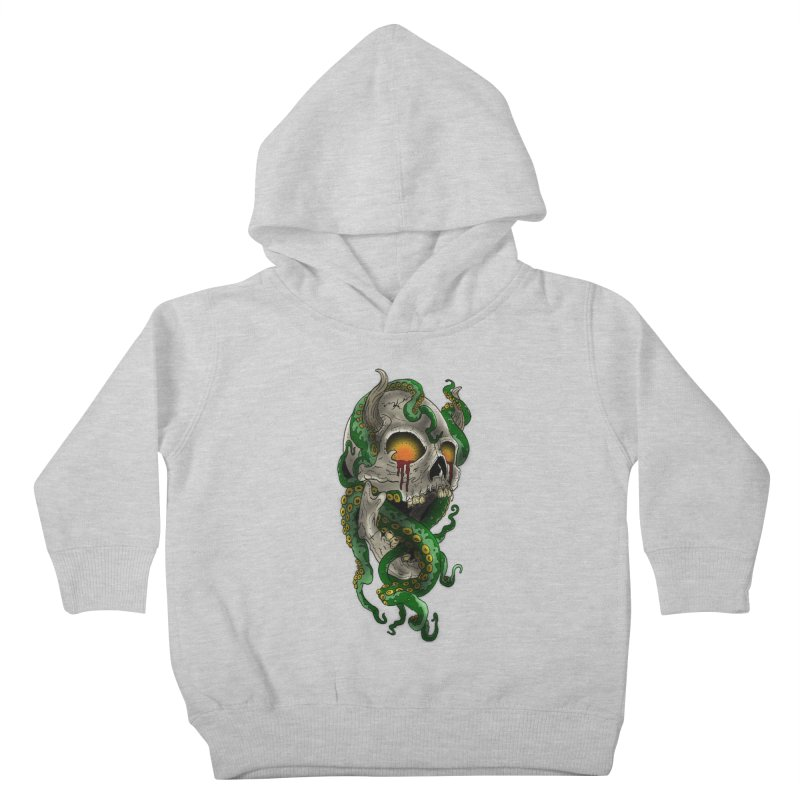 From the Inky Depths Kids Toddler Pullover Hoody by Inkslinger Erick Designs