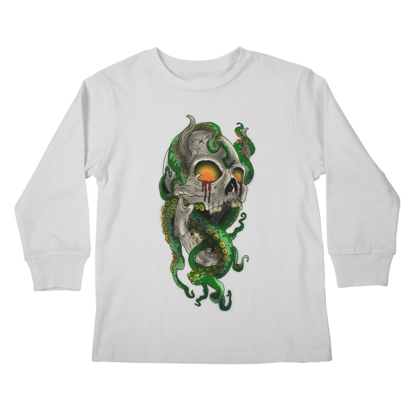 From the Inky Depths Kids Longsleeve T-Shirt by Inkslinger Erick Designs