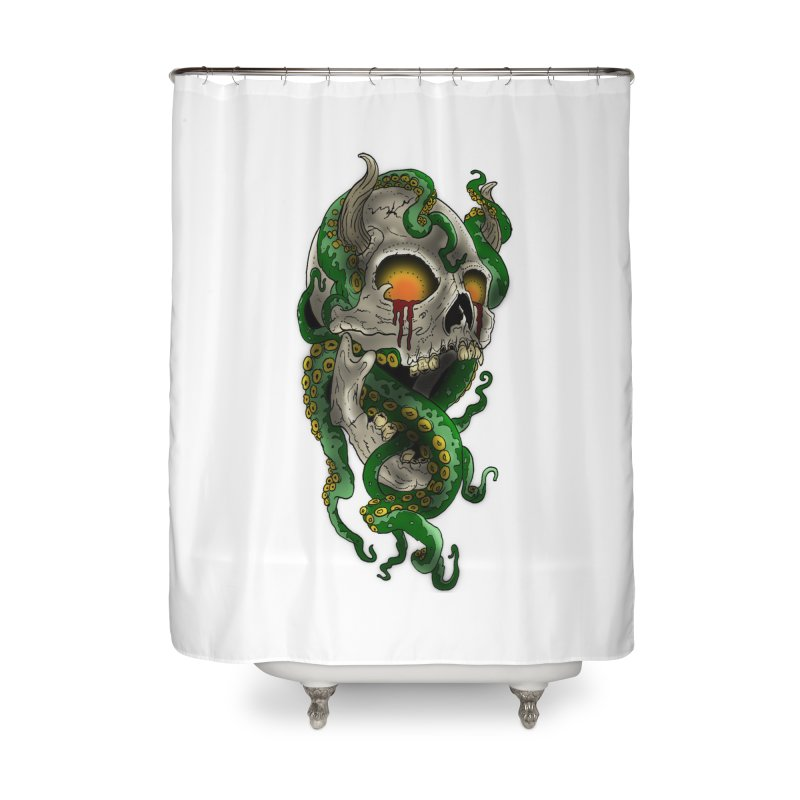 From the Inky Depths Home Shower Curtain by Inkslinger Erick Designs