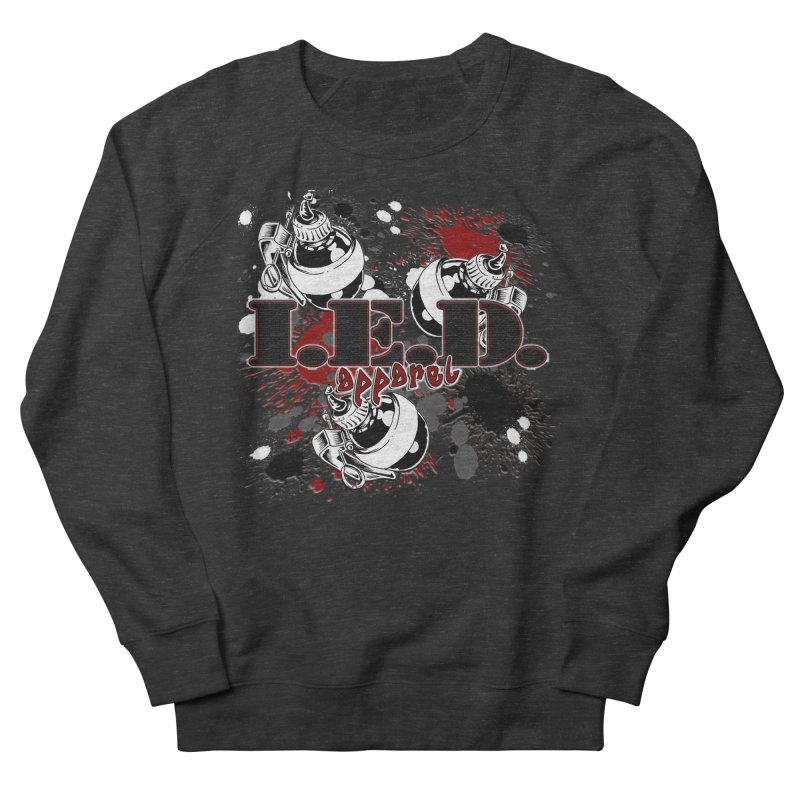 Ink Bombs Away! Men's French Terry Sweatshirt by Inkslinger Erick Designs