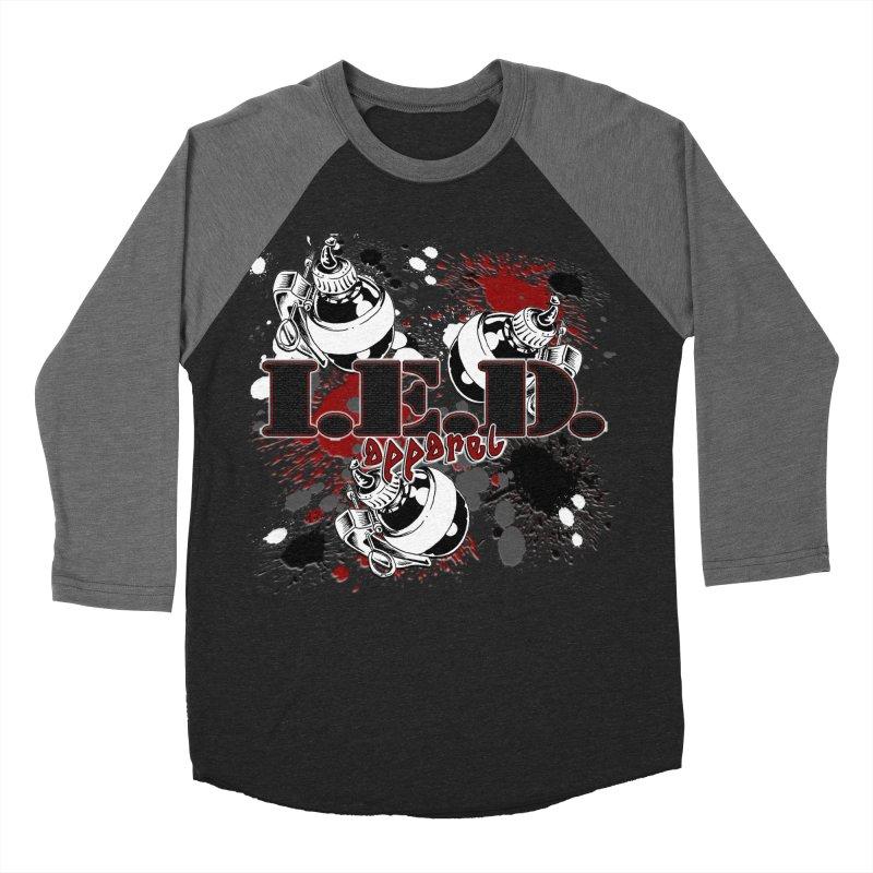 Ink Bombs Away! Women's Baseball Triblend Longsleeve T-Shirt by Inkslinger Erick Designs