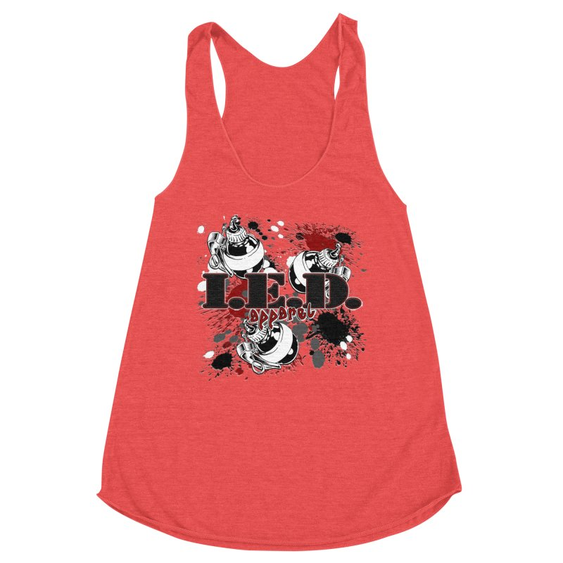 Ink Bombs Away! Women's Tank by Inkslinger Erick Designs