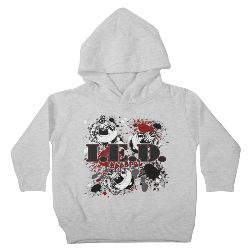 Ink Bombs Away! Kids Toddler Pullover Hoody by Inkslinger Erick Designs