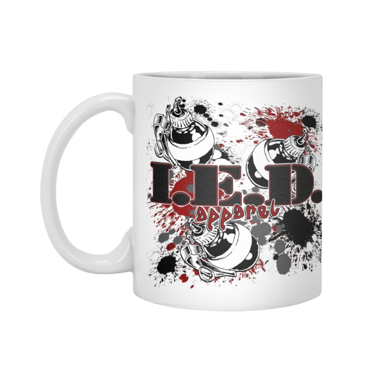 Ink Bombs Away! Accessories Standard Mug by Inkslinger Erick Designs