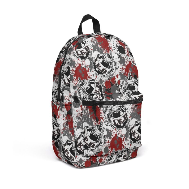Falling Ink Bombs Accessories Backpack Bag by Inkslinger Erick Designs
