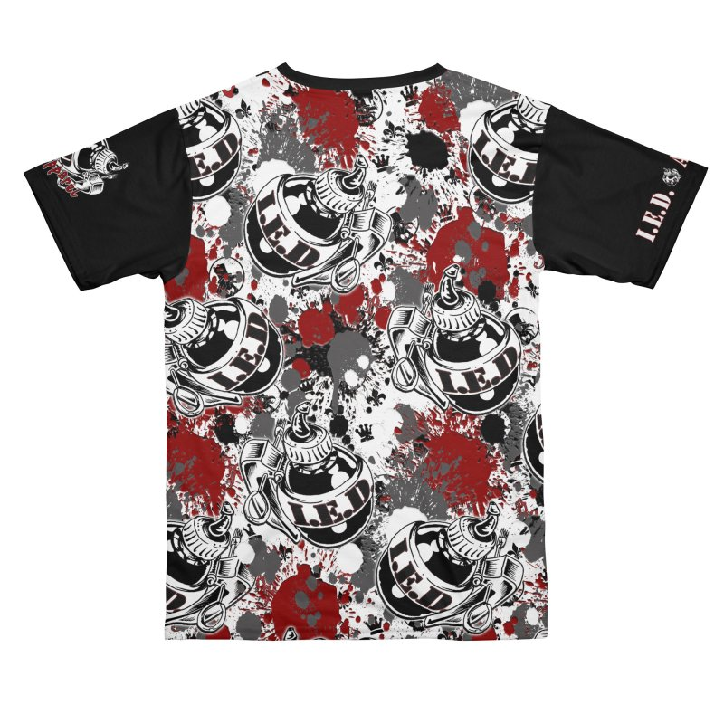 Falling Ink Bombs Men's Cut & Sew by Inkslinger Erick Designs