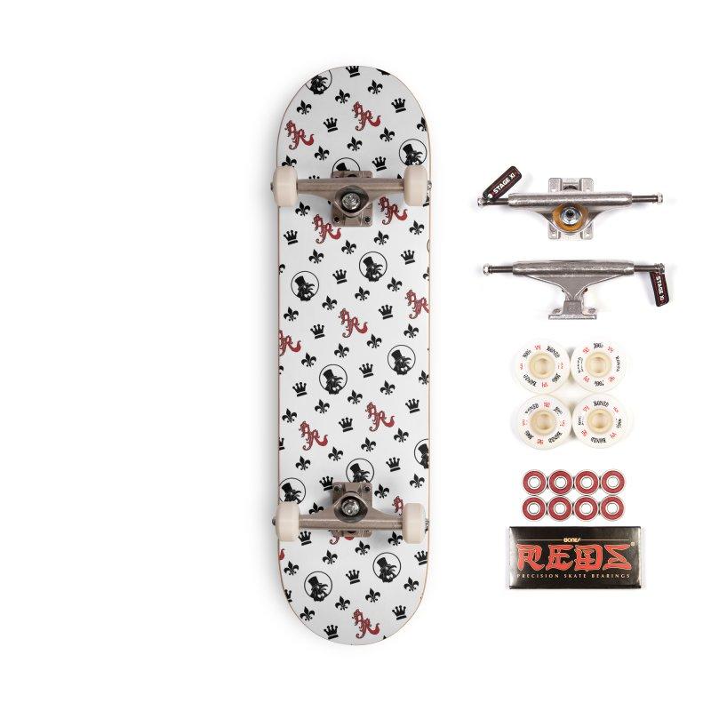 Designer Ravenite Gear Accessories Complete - Pro Skateboard by Inkslinger Erick Designs