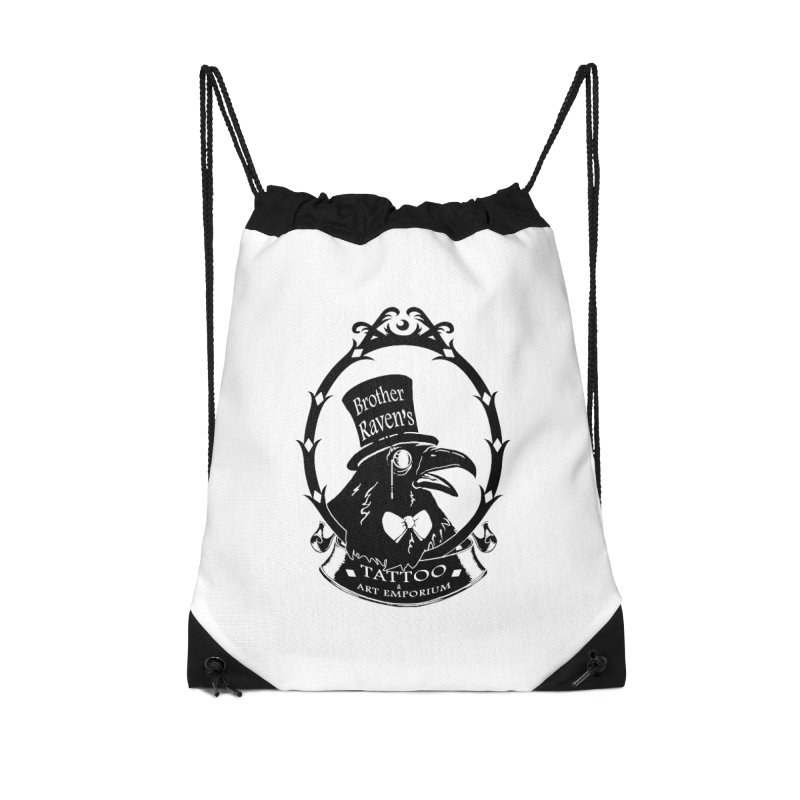 Ravenite Gear Accessories Drawstring Bag Bag by Inkslinger Erick Designs