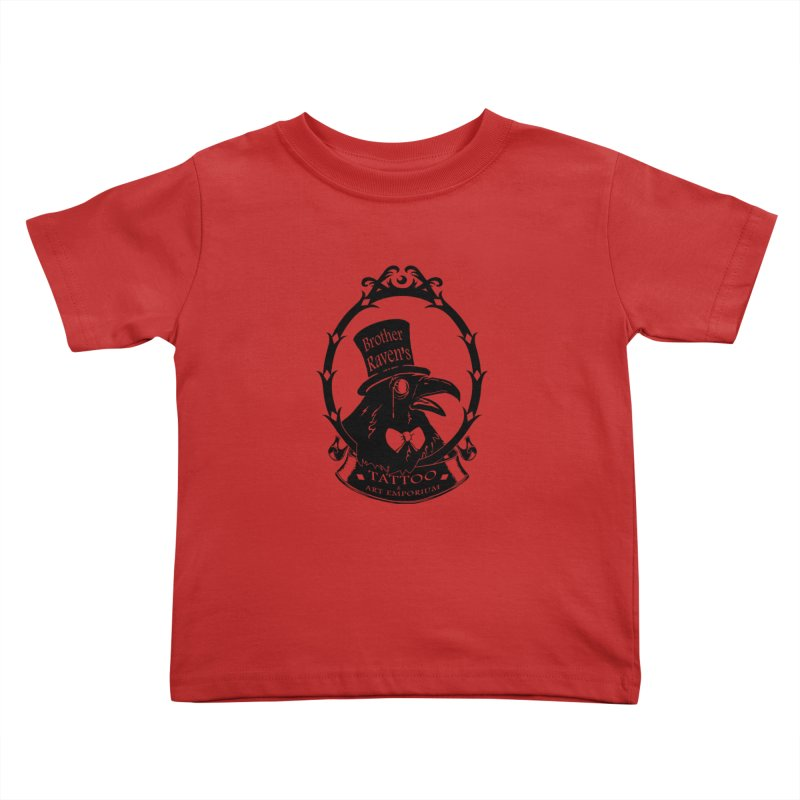 Ravenite Gear Kids Toddler T-Shirt by Inkslinger Erick Designs