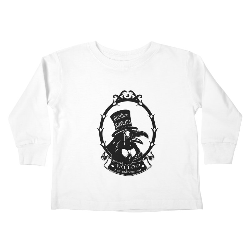 Ravenite Gear Kids Toddler Longsleeve T-Shirt by Inkslinger Erick Designs