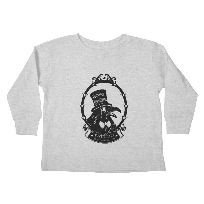 Ravenite Gear Kids Toddler Longsleeve T-Shirt by Inkslinger Erick Designs