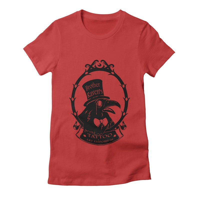 Ravenite Gear Women's Fitted T-Shirt by Inkslinger Erick Designs