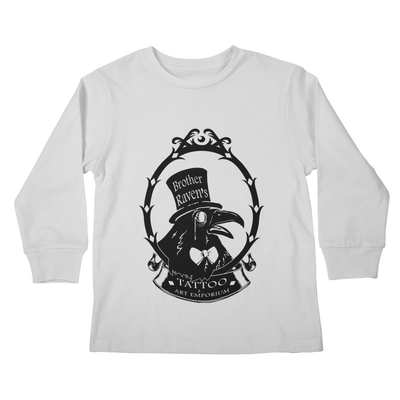 Ravenite Gear Kids Longsleeve T-Shirt by Inkslinger Erick Designs