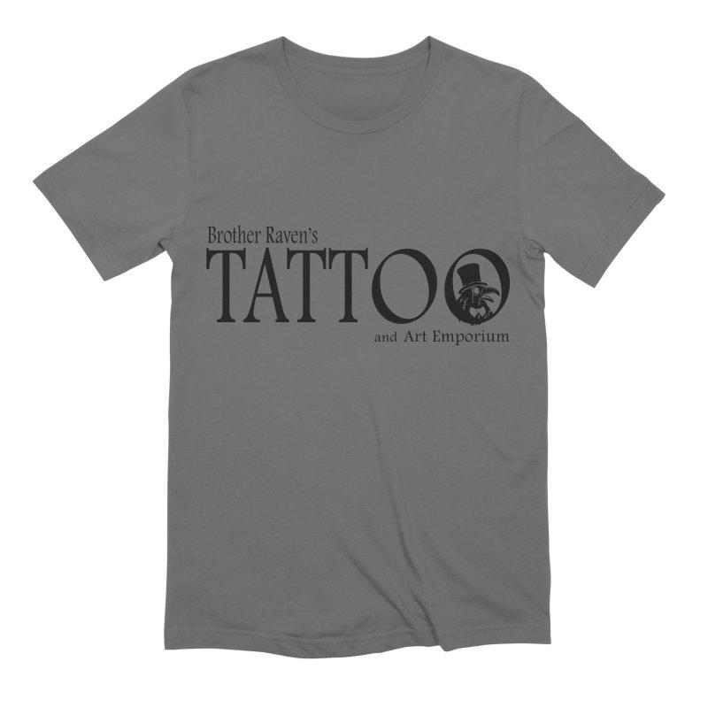 Brother Raven's Logo Gear - Light Men's T-Shirt by Inkslinger Erick Designs