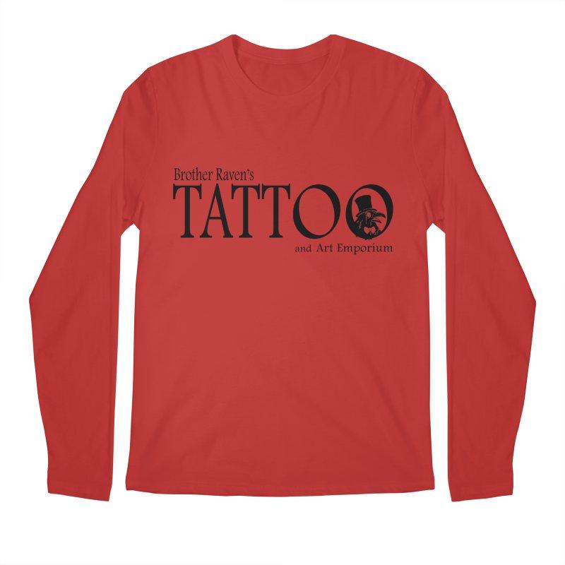 Brother Raven's Logo Gear - Light Men's Regular Longsleeve T-Shirt by Inkslinger Erick Designs