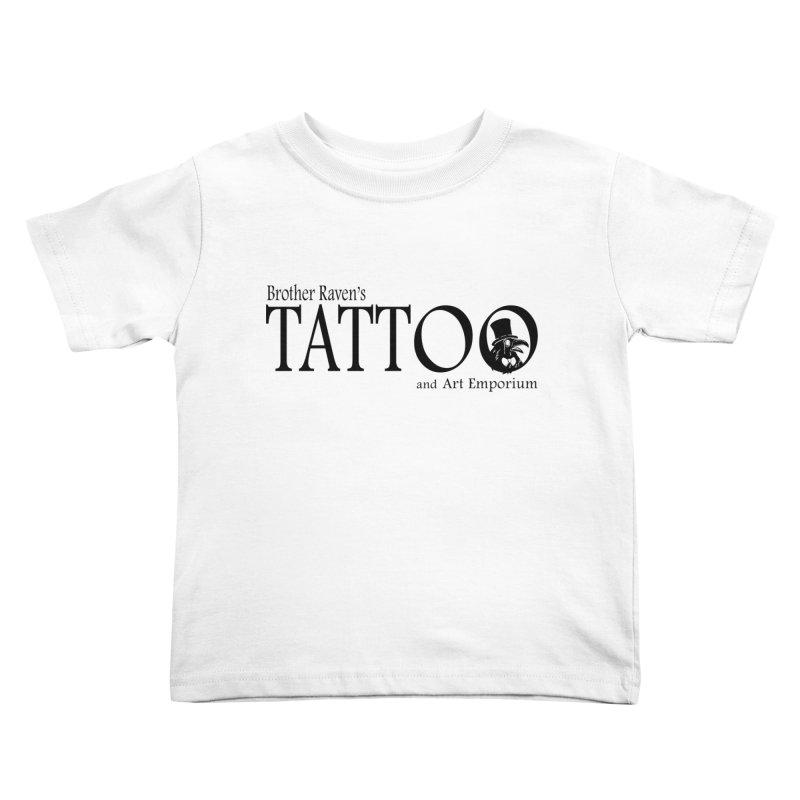 Brother Raven's Logo Gear - Light Kids Toddler T-Shirt by Inkslinger Erick Designs