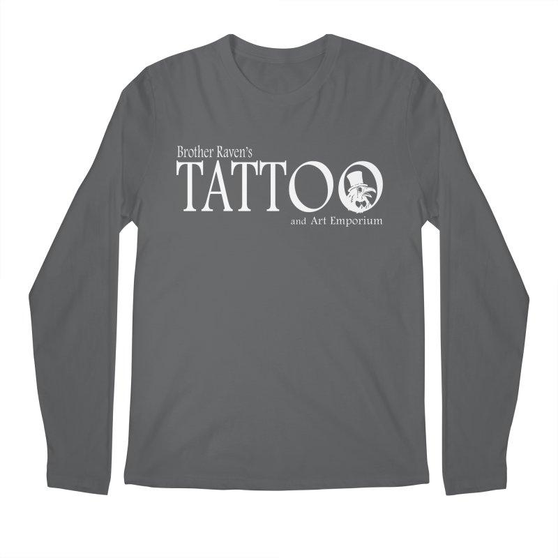 Brother Raven's Logo Gear - Dark Men's Regular Longsleeve T-Shirt by Inkslinger Erick Designs