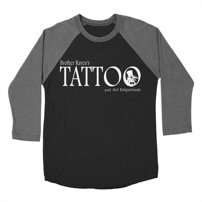 Brother Raven's Logo Gear - Dark Women's Baseball Triblend Longsleeve T-Shirt by Inkslinger Erick Designs
