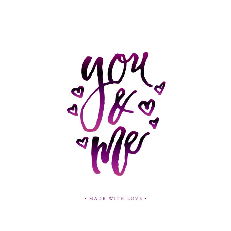 you & me Women's T-Shirt by IF Creation's Artist Shop