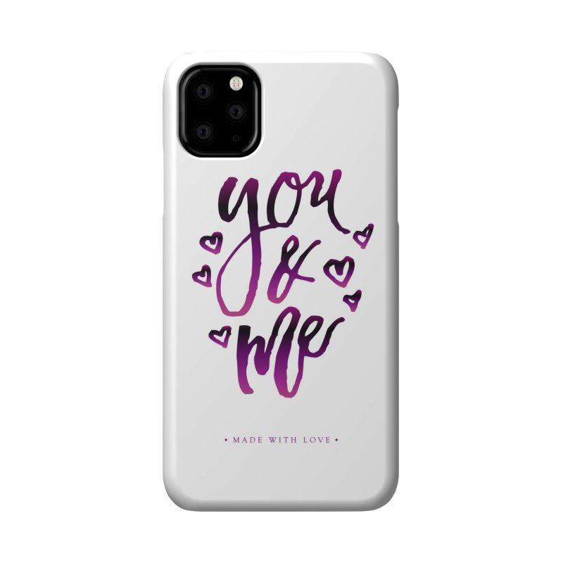 you & me Accessories Phone Case by IF Creation's Artist Shop
