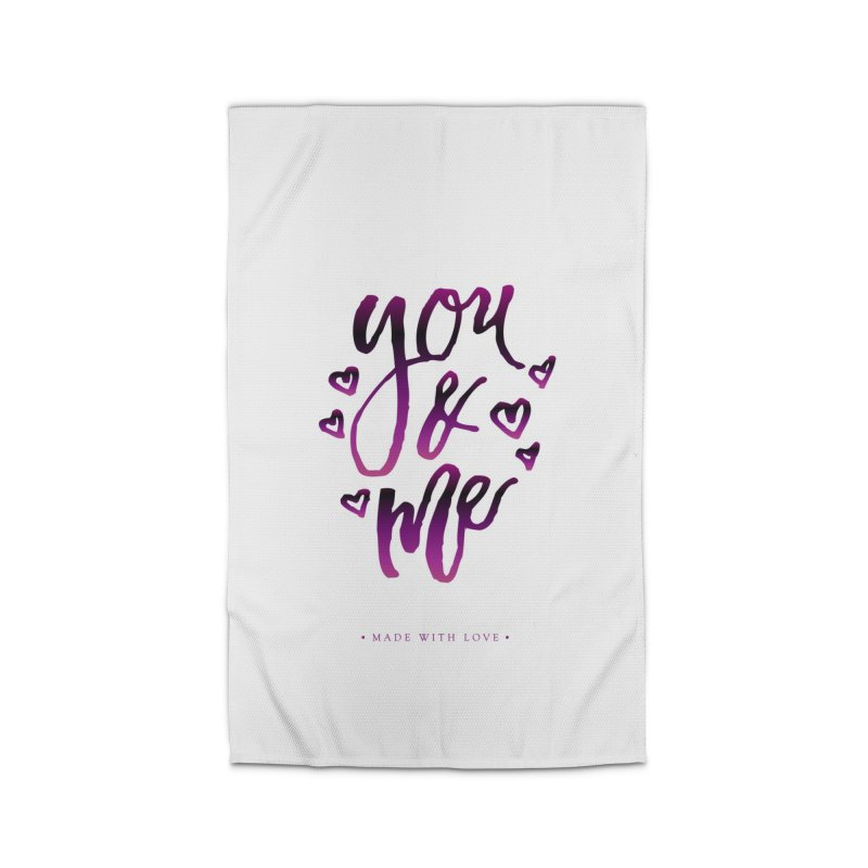 you & me Home Rug by IF Creation's Artist Shop