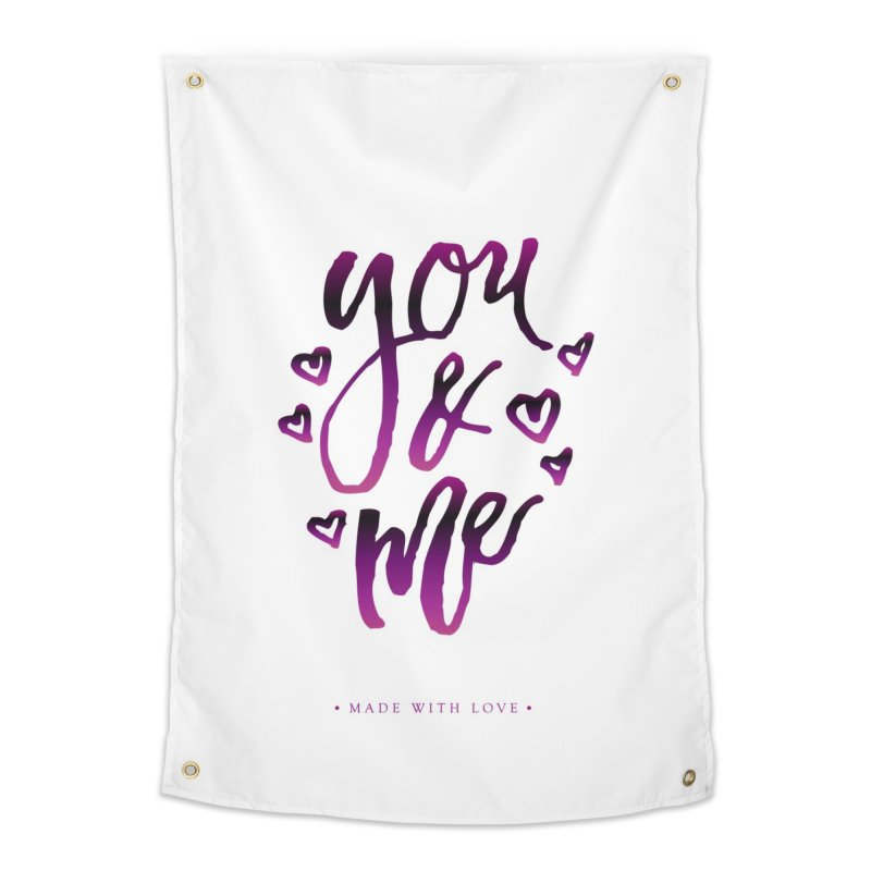 you & me Home Tapestry by IF Creation's Artist Shop