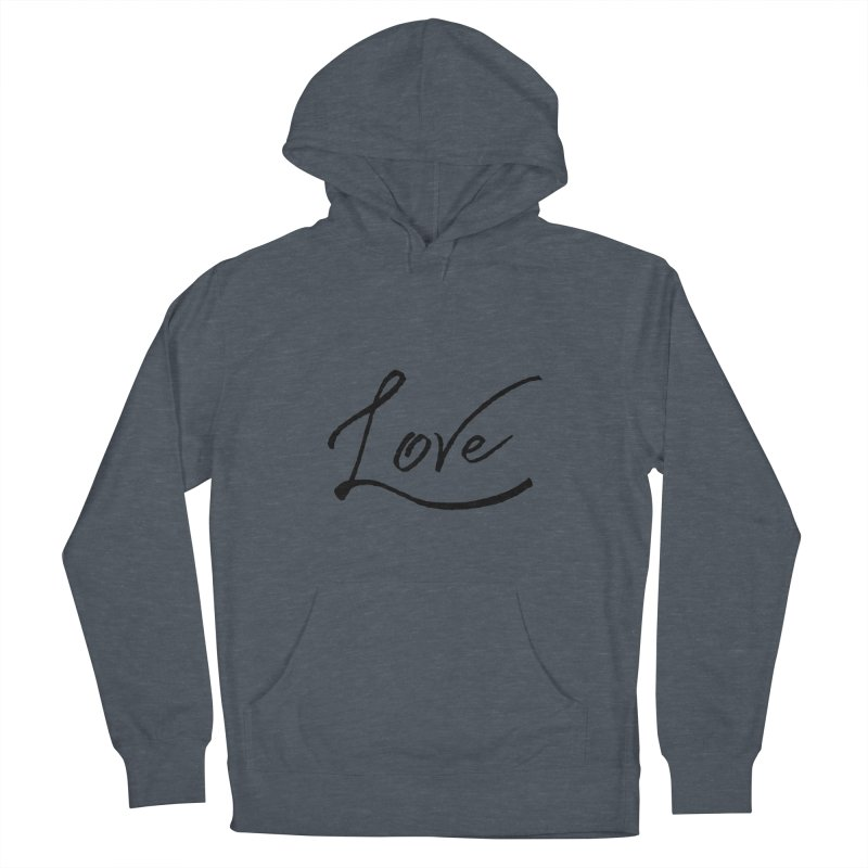 Love Men's Pullover Hoody by IF Creation's Artist Shop