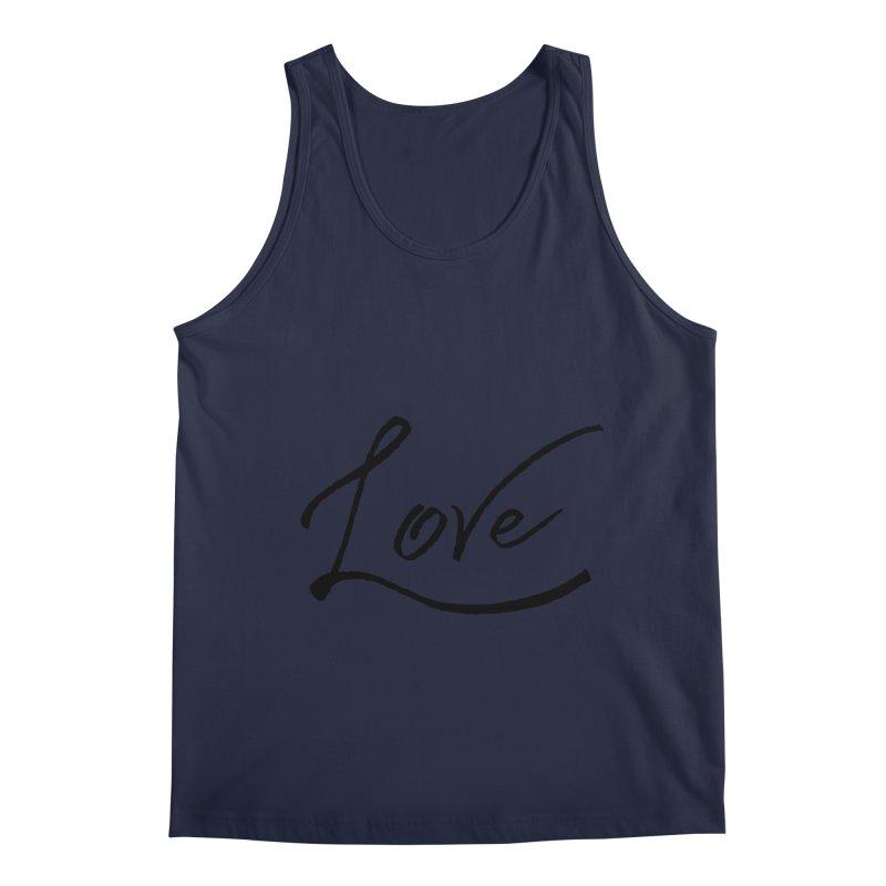 Love Men's Regular Tank by IF Creation's Artist Shop
