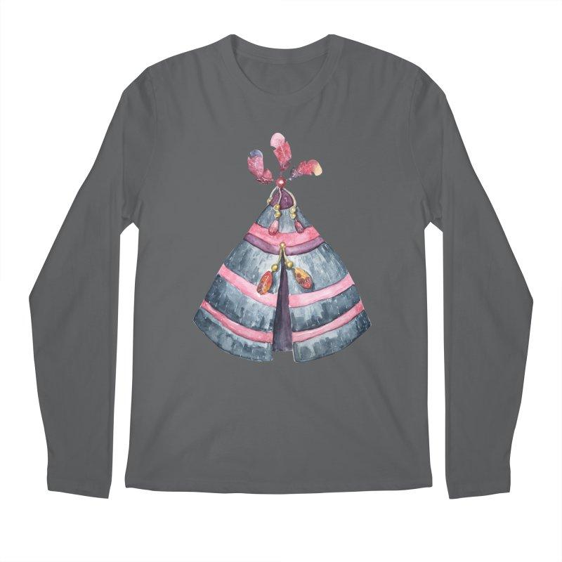 wigwam Men's Longsleeve T-Shirt by IF Creation's Artist Shop