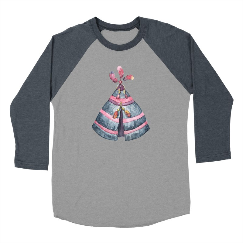 wigwam Men's Baseball Triblend Longsleeve T-Shirt by IF Creation's Artist Shop