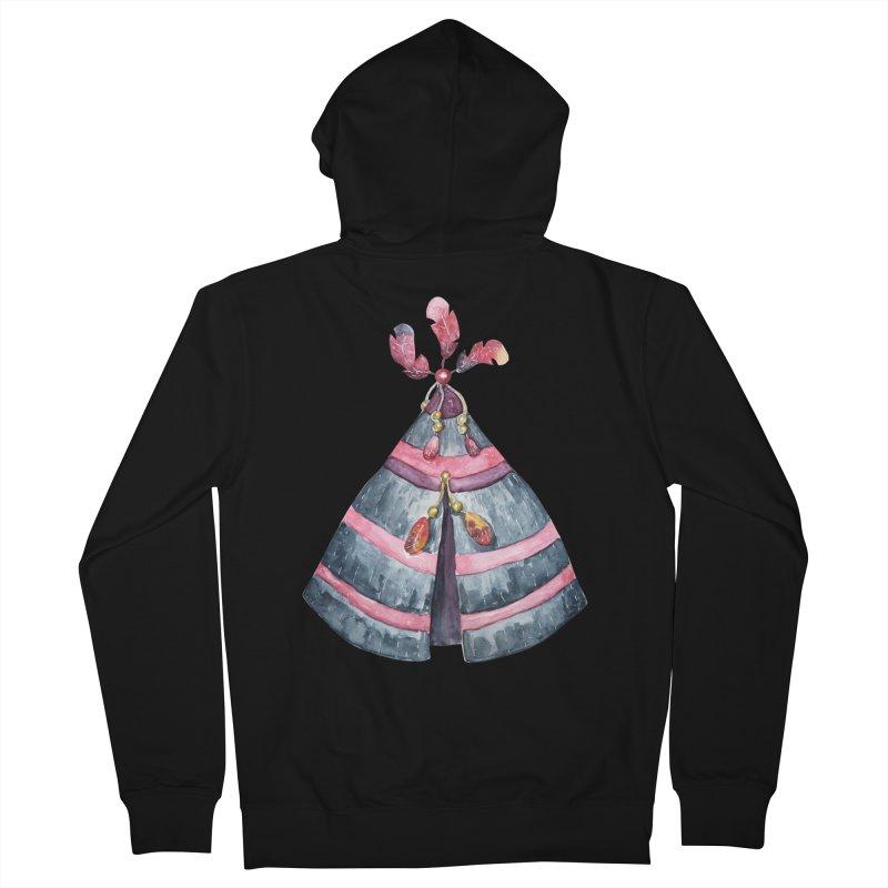 wigwam Men's Zip-Up Hoody by IF Creation's Artist Shop