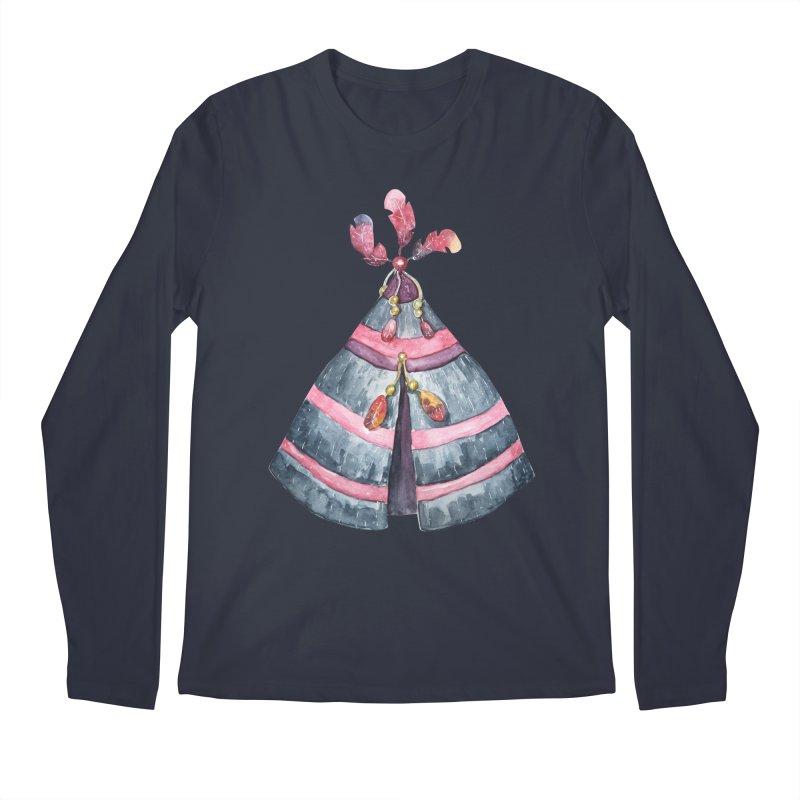 wigwam Men's Regular Longsleeve T-Shirt by IF Creation's Artist Shop