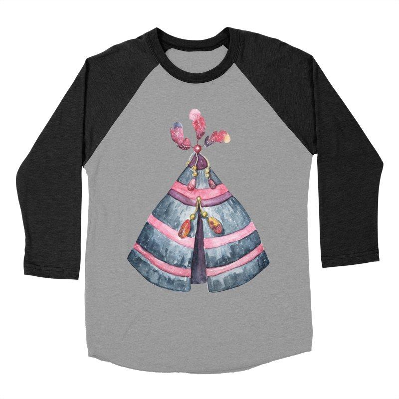 wigwam Women's Baseball Triblend T-Shirt by IF Creation's Artist Shop