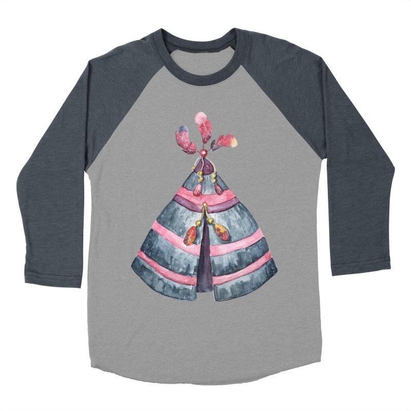 wigwam Women's Baseball Triblend Longsleeve T-Shirt by IF Creation's Artist Shop