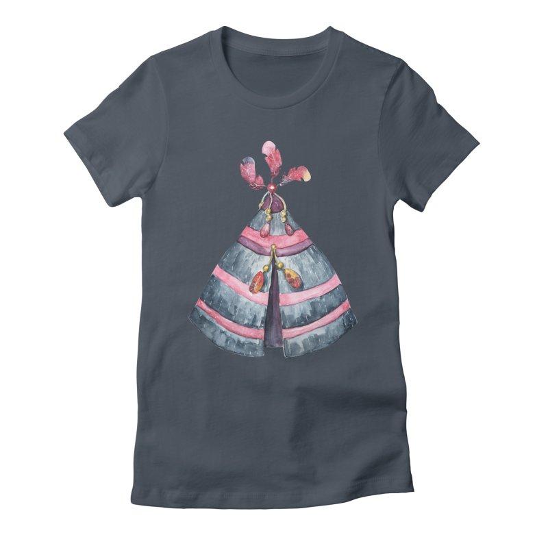 wigwam Women's T-Shirt by IF Creation's Artist Shop
