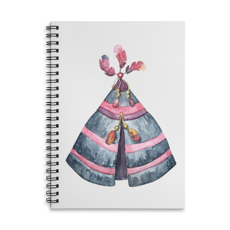 wigwam Accessories Notebook by IF Creation's Artist Shop