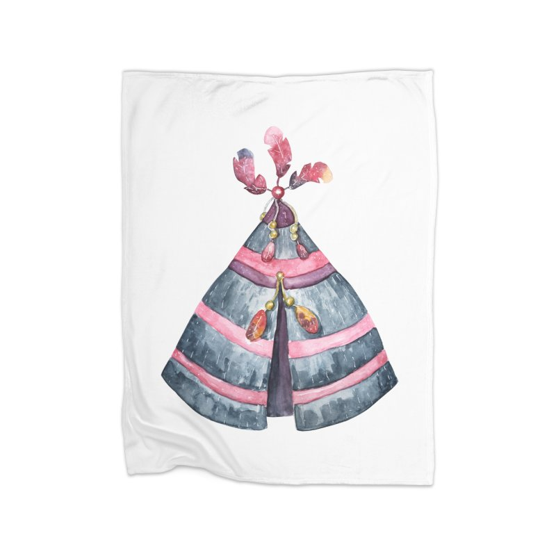 wigwam Home Blanket by IF Creation's Artist Shop