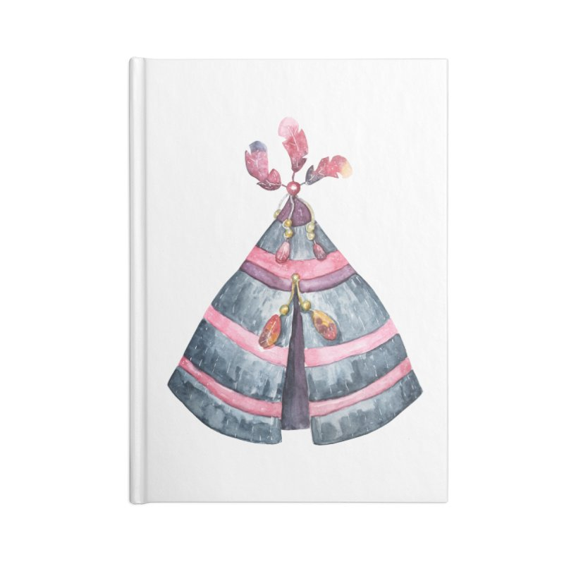 wigwam Accessories Blank Journal Notebook by IF Creation's Artist Shop