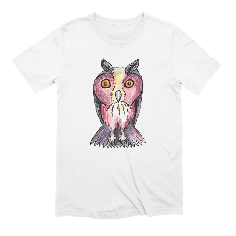 Tribe Owls Men's Extra Soft T-Shirt by IF Creation's Artist Shop